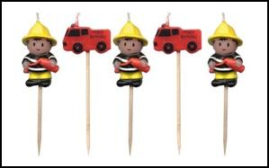 Il est temps de commencer pr parer l 39 anniversaire de mon - Decoration anniversaire sam le pompier ...